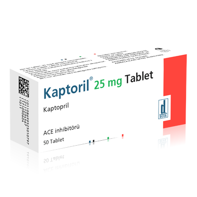 KAPTORİL 25 MG