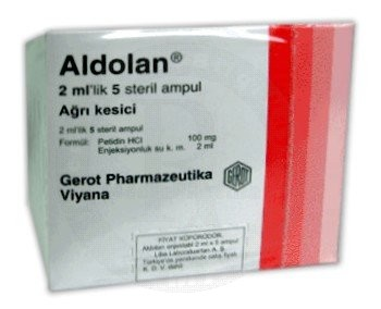 ALDOLAN 100 MG/ 2 ML 25 AMPÜL