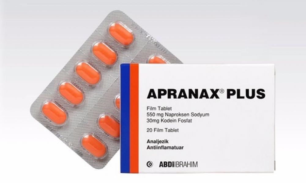 Apranax Plus Tablet İle Ağrılara Son