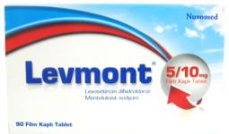 Levmont 2,5/4 Mg Toz İçeren Saşe