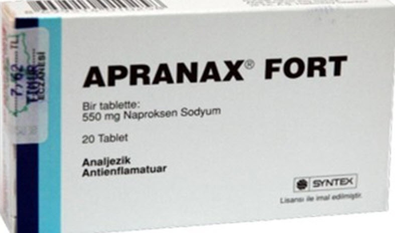 Apranax Forte 550 Mg 10 Tablet