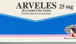 Arveles 25 Mg Film Tablet Endikasyonları