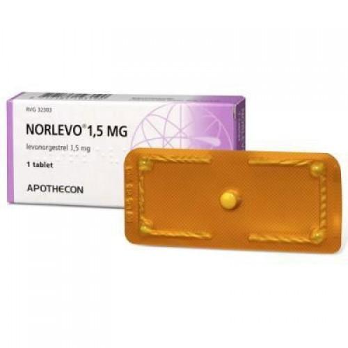 Norlevo 750 Mcg 2 Tablet