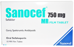 Sanocef 750 Mg Film Tablet Yan Etkileri