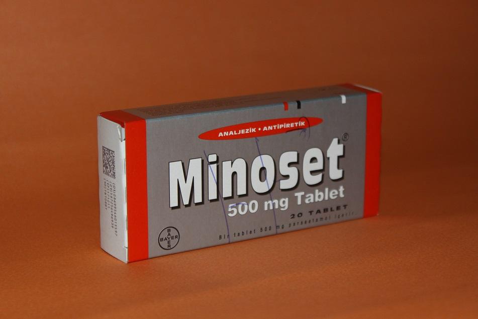ÜŞÜTMEYE BAĞLI VÜCUT AĞRILARI İÇİN; MİNOSET 500 mg TABLET