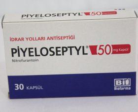 PIYELOSEPTYL 50 mg KAPSÜL