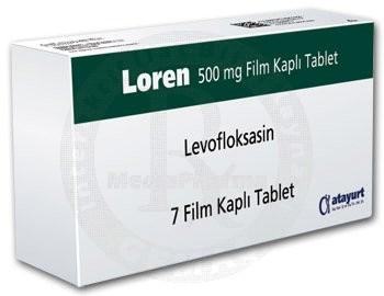 Kronik Bronşit Tedavisinde Antibiyotik İlaç; Loren 500 mg Film Tablet