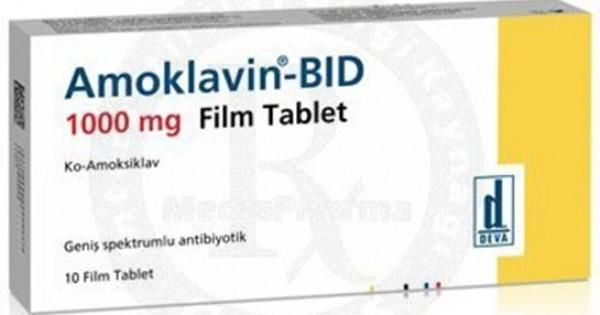 AMOKLAVİN-BİD 1000 mg