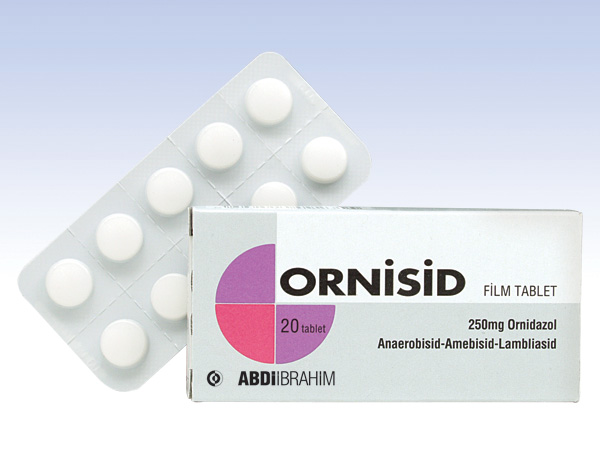 ORNİSİD FORT TABLET 500 MG