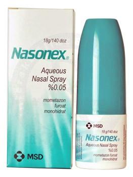 Nasonex Aqueous Nasal Spray Nedir