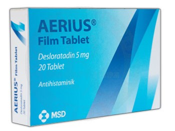 Aerıus Film Tablet ile alerjiye son verin