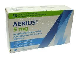 Aerıus 5 mg tablet