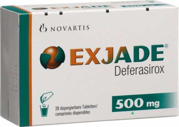Exjade 500 mg tablet